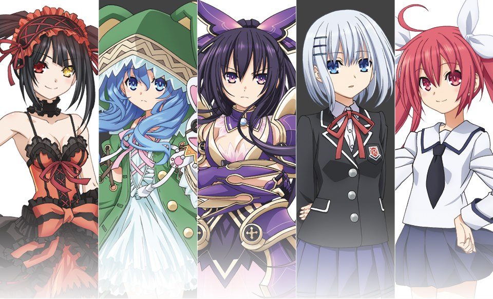Date a live characters